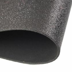 Brokatowa pianka 20x30 cm - czarny - CZA