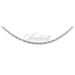 Łańcuszek ozdobny srebrny pr. 925 potrójny ankier Ø 030 - Ø 030