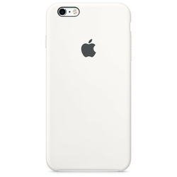 Apple iPhone 6s Silicone Case White          MKY12ZMA