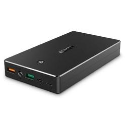 AUKEY PB-T10 Black ultraszybki Power Bank   20000 mAh   4xUSB   5.4A   Quick Charge 3.0   AiPower   kabel micro USB