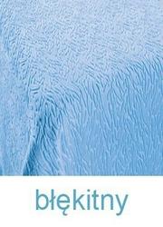 Koc IBERIA DE LUX, 11 kolorów Greno błękitny - błękitny