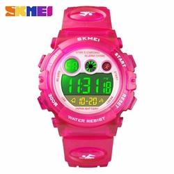 Zegarek dziecięcy SKMEI 1451 elektroniczny rose - Rose Red