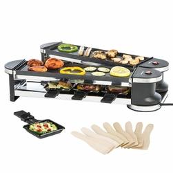 Podwójny grill elektryczny z raclette ULTRATEC RG1200 - Klasa 2  czarny