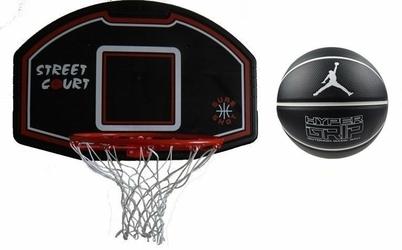 Zestaw do kosza 506 Bronx Sure Shot + Piłka do koszykówki Air Jordan Hyper Grip 4P
