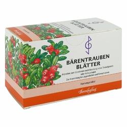 Baerentraubenblaetter Filterbtl.