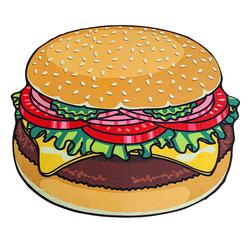 Koc plażowy hamburger