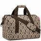 Duża torba podróżna Reisenthel Allrounder L Diamonds Mocha RMT6039
