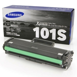 HP oryginalny toner SU696A, MLT-D101S, black, 1500s, 101S, Samsung ML 2160, 2165, SCX 3400, 3405, SF 760P