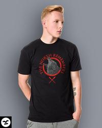 Gra o Tron - The North T-shirt damski Jasny melanż S