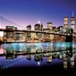 Brooklyn Bridge Colour - plakat