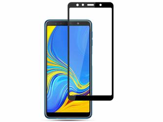 Szkło Mocolo na cały ekran Samsung Galaxy A7 2018 czarne