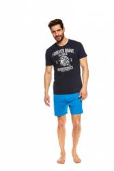 Henderson Justice 37121-59X Granatowo-niebieska piżama męska