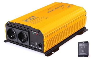 PRZETWORNICA SINUS PLUS 1500 24V  230V 10001500W - Szybka dostawa lub możliwość odbioru w 39 miastach