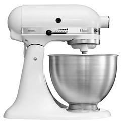 Robot kuchenny KITCHENAID 5KSM45EWH  275 W  stalowa misa 4,3 l  10 prędkości