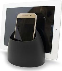 Podstawka pod telefon lub tablet Hub czarna