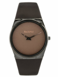 Brazowy Damski zegarek na pasku PACIFIC RAPPO 1 zy579d - UNISEX