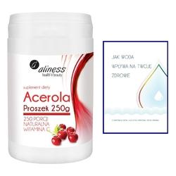 ACEROLA Proszek 250 g, ekstrakt 25 z owoców aceroli Malpighia glabra
