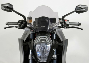Szyba MRA KTM 1290 SUPER DUKE R 2013 - forma - NRM1 przyciemniana