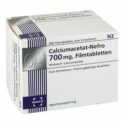Calciumacetat Nefro 700 mg Filmtabl.