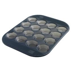 Mastrad - silikonowa forma do mini tartaletek na 16 ciasteczek