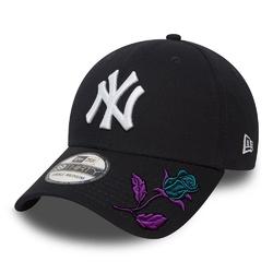 Czapka z daszkiem new era 39thirty mlb new york yankees custom rose - 10145636 - rose
