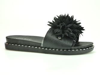 Klapki  vinceza  20-30101 czarny