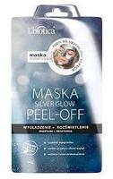 Lbiotica silver glow maska peel-off wygładzenie i rozświetlenie 10g