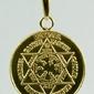 Talizman ochrony anielskiej talizman aniołów - pozłacany