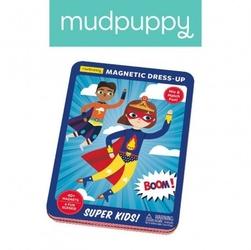 Mudpuppy magnetyczne postacie super dzieciaki 4+