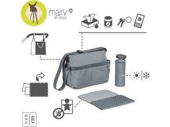 Torba z akcesoriami shoulder bag tiles grey marv