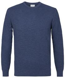 Pullover ze ściągaczem niebieski s
