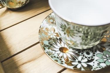 Komplet herbaciany - 6 filiżanek 200 ml zsp