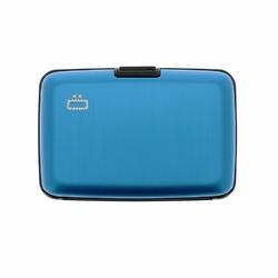 Portfel Aluminiowy Ogon Designs Stockholm Blue RFID protect - Blue