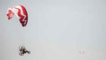 Lot paralotnią z wideofilmowaniem - warszawa