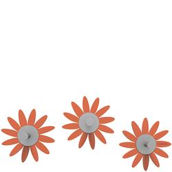 Wieszaki ścienne Maya CalleaDesign pomarańczowe 13-011-63