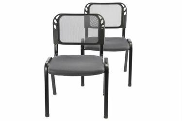 Krzesło konferencyjne - krzesło biurowe, 2 szt.