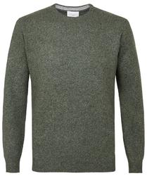 Sweter zielony melanż s