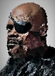 POLYamory - Nick Fury, Marvel - plakat Wymiar do wyboru: 70x100 cm