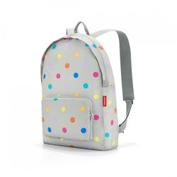 Plecak mini maxi rucksack stonegrey dots