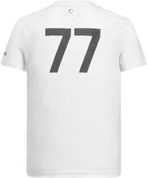 Koszulka mercedes amg bottas 44 biała - biały