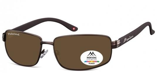 Meskie klasyczne okulary montana mp103b polaryzacyjne