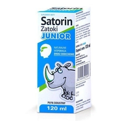 Satorin zatoki junior płyn 120ml