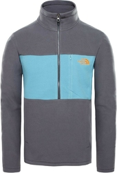 Bluza męska the north face blocked tka 100 14 zip t93t22ar5