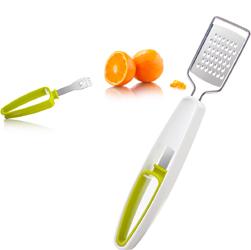 Tarka do cytrusów z drapakiem do skórek owoców Tomorrows Kitchen TK-4664660