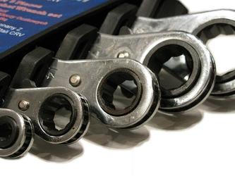 Klucze oczkowe z grzechotką 6-22mm 5 sztuk falon-tech