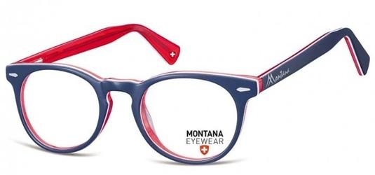 Okragle okulary oprawki optyczne, korekcyjne montana ma95g
