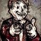 Legends of bedlam - vault boy, fallout - plakat wymiar do wyboru: 30x40 cm