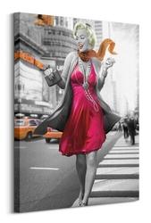 Jadei graphics marilyn monroe new york walk - obraz na płótnie