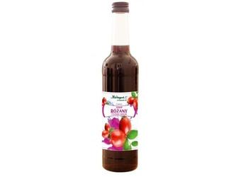 Syrop różany z płatków i owoców 400ml