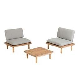 Zestaw ogrodowy viedri - dwa fotele i stolik